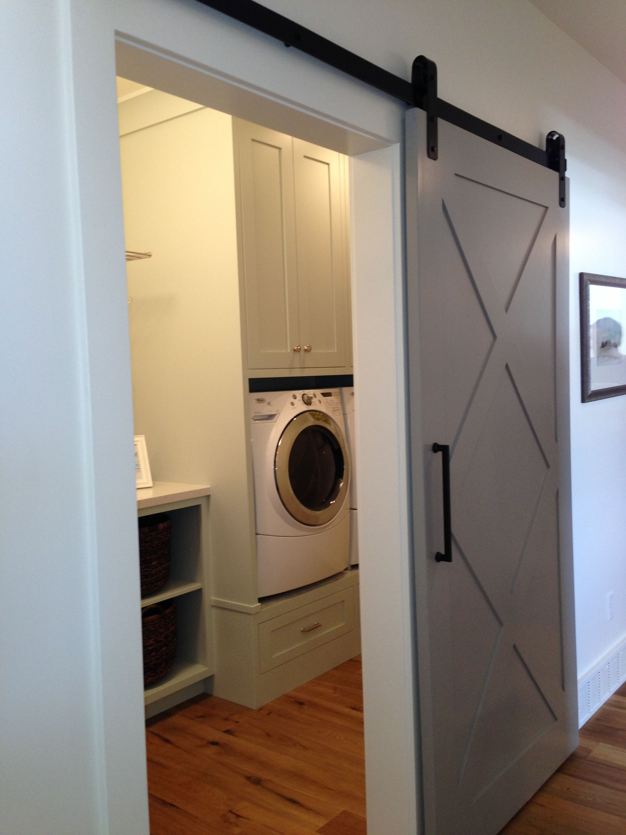 barn door laundry room diy home pinterest barn
