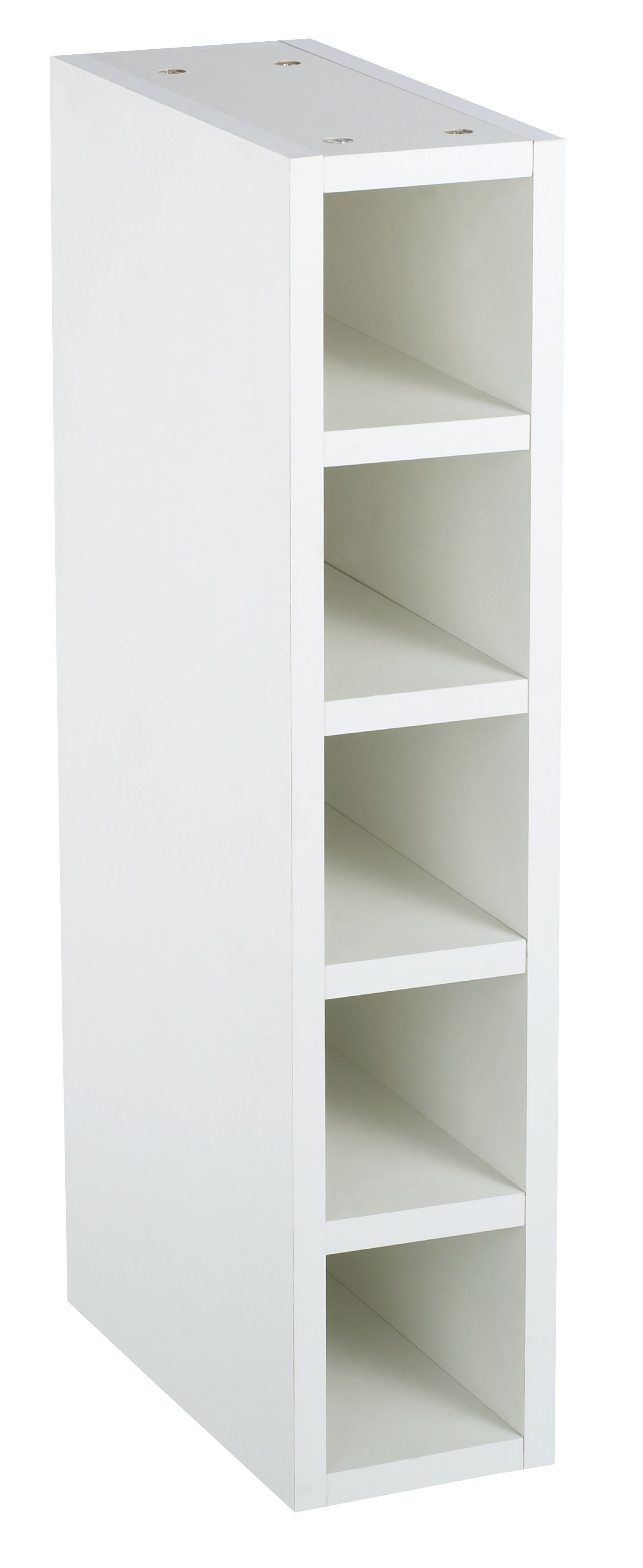 White Wall Wine Rack Cooke And Lewis Matt White Wine Rack Cabinet W 150mm