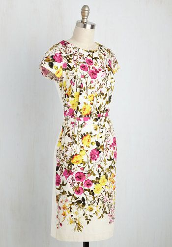 To Bloom It May Concern Dress | Mod Retro Vintage Dresses | ModCloth.com