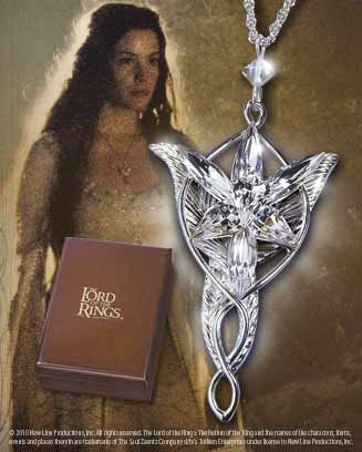 Arwen's Evenstar Pendant. My husband gave me one as an anniversary present.