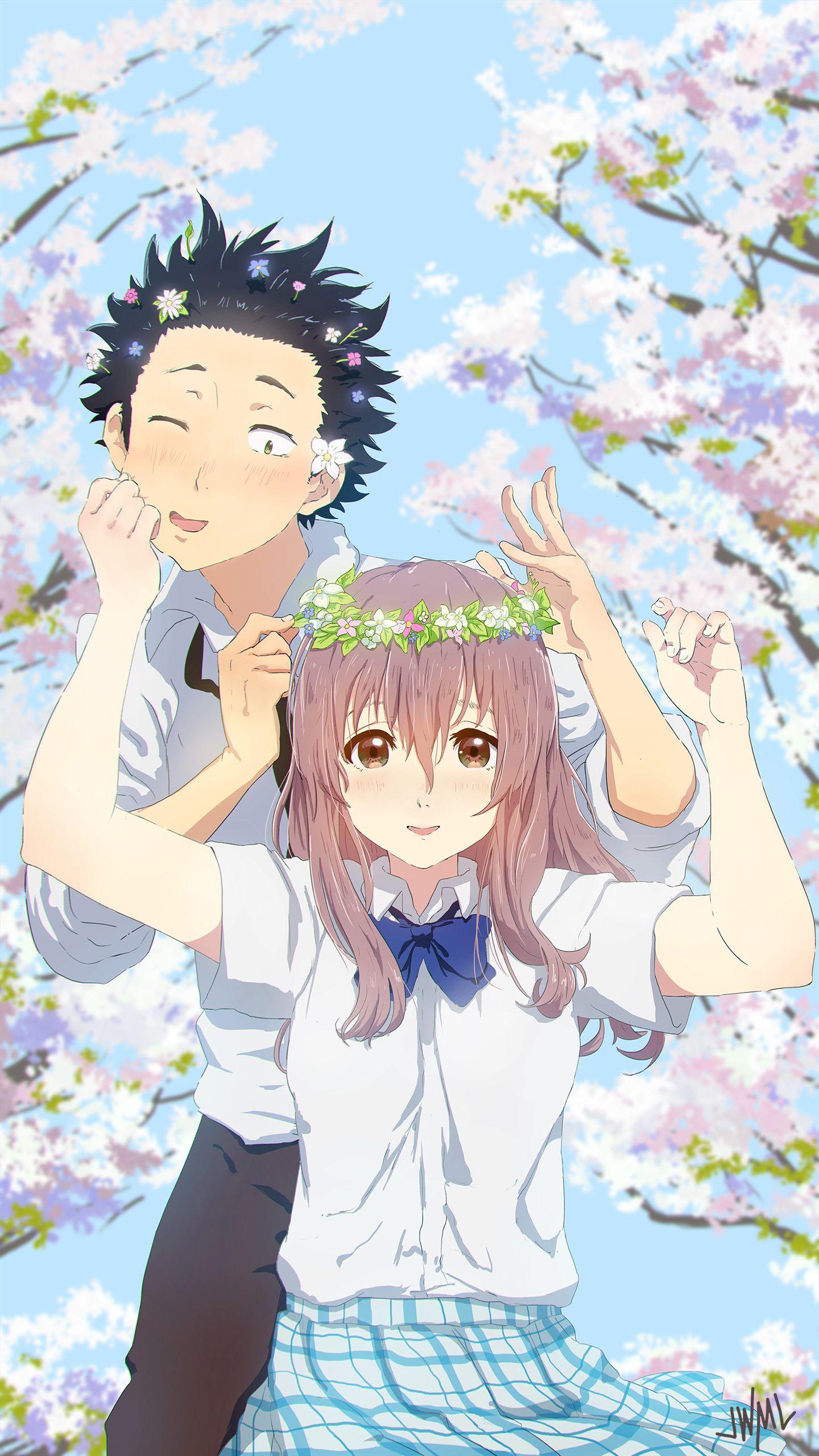 """Ishida Shouya"" ""Nishimiya Shouko"" Anime ""Koe no katachi"