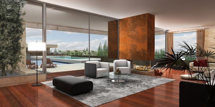 Decoraciones de interiores de casas modernas moda para for Decoraciones de interiores de casas modernas