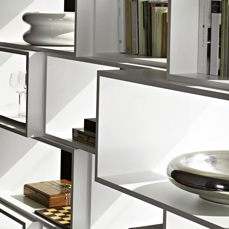ZIGZAG  BOOKCASE / DESIGN NENDO / BY LEMA / YEAR 2011 | #designbest #magazine #interior #design #nordic |
