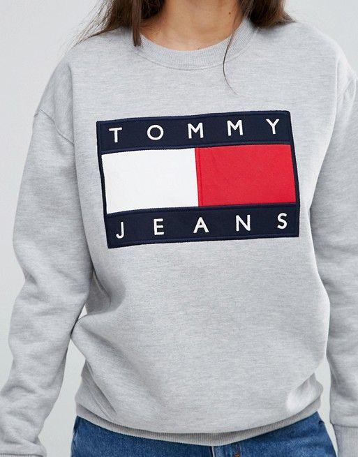Tommy Jeans Oversize Logo Sweatshirt