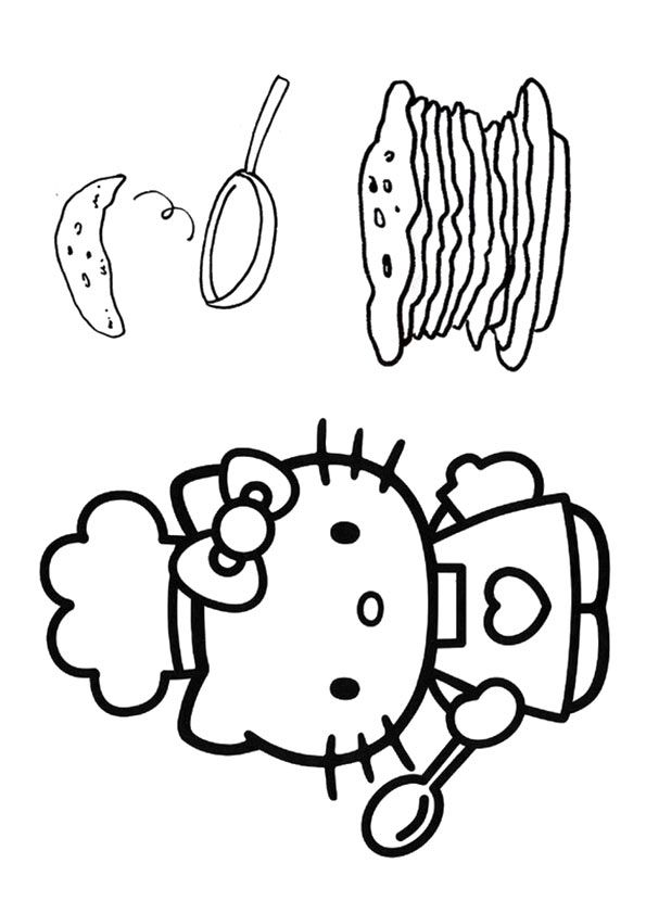 10 Wonderful Pancake Coloring Pages For Your Little Ones ...