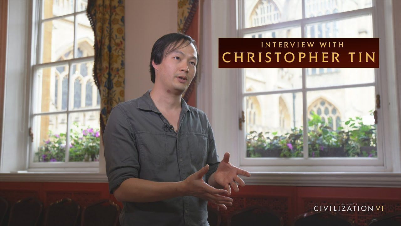 Interview with Christopher Tin #CivilizationBeyondEarth #gaming #Civilization #games #world #steam #SidMeier #RTS