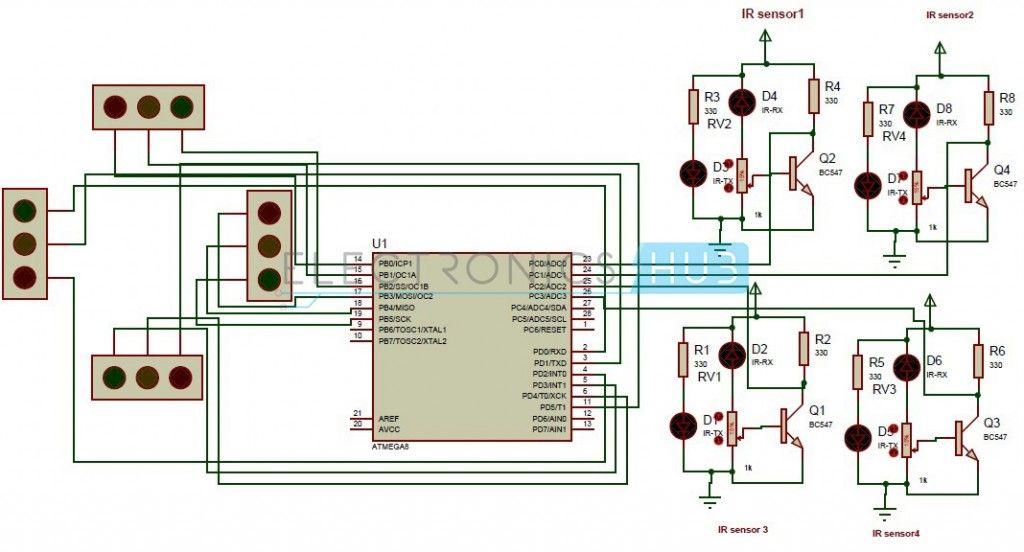 arduino home automation wiring diagram traffic light circuit diagram using arduino - somurich.com arduino traffic light wiring diagram