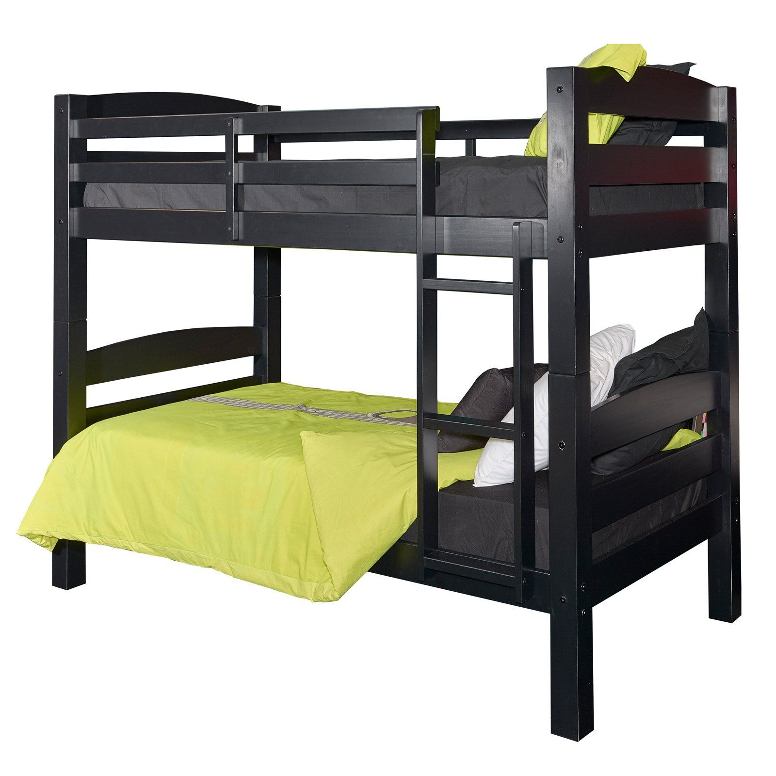 Powell Collection Levi Collection Twin Over Twin Bunk Bed With