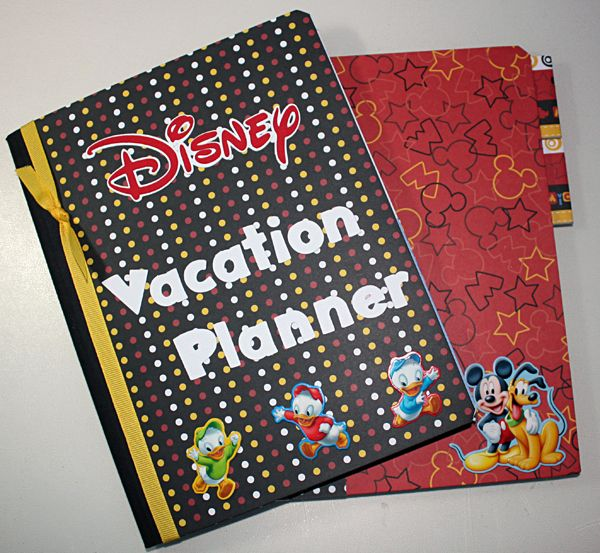 Vacation Planner Using Composition Notebook Even