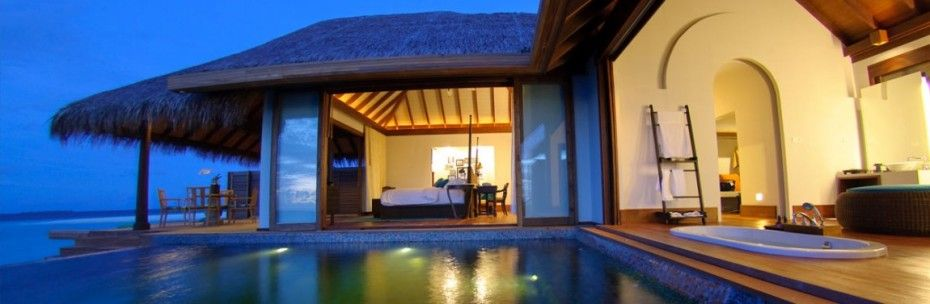 Staying at Anantara Kihavah Villas Maldives: Private Outdoor Pool In Anantara Kihavah Villas