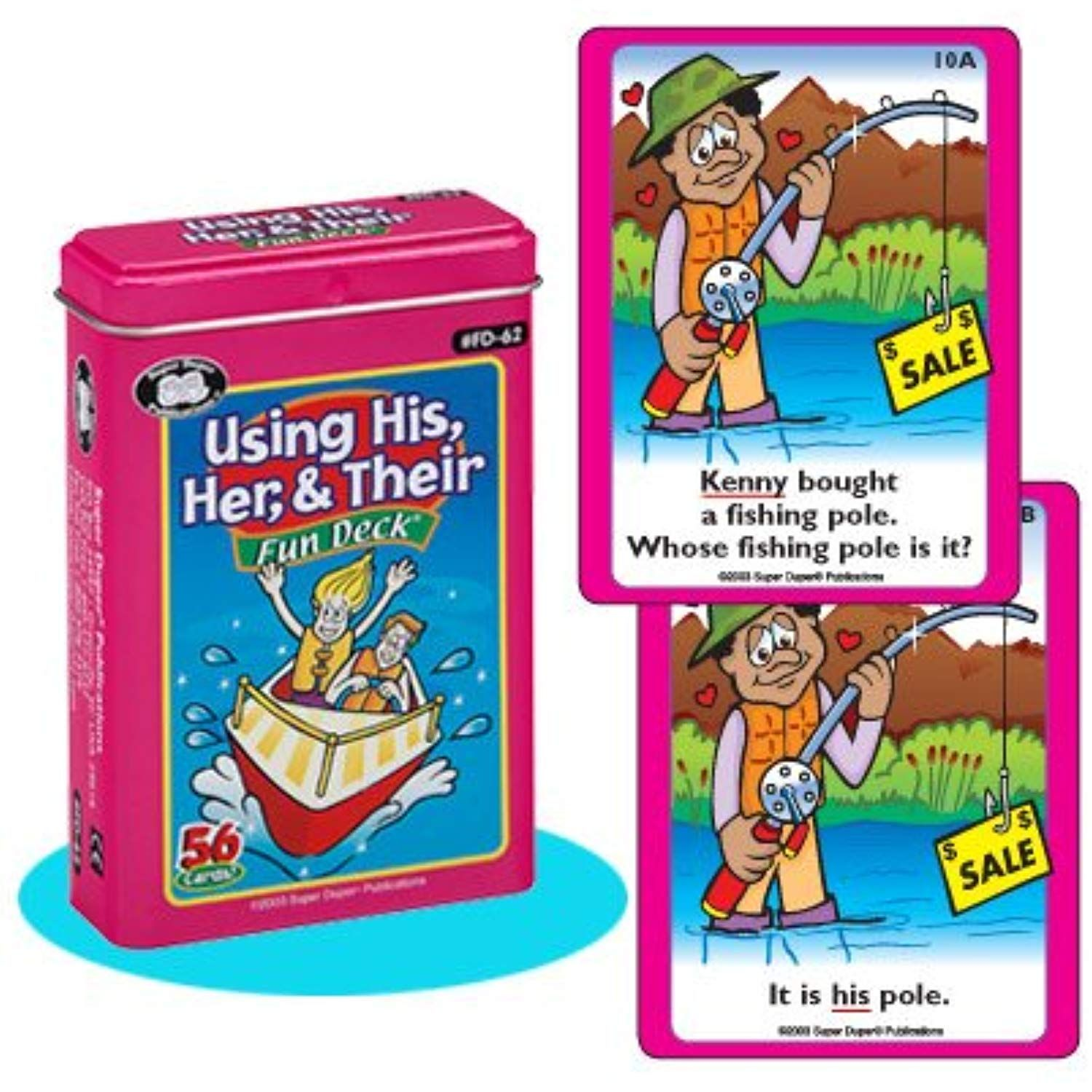 Using His Her Their Fun Deck Cards