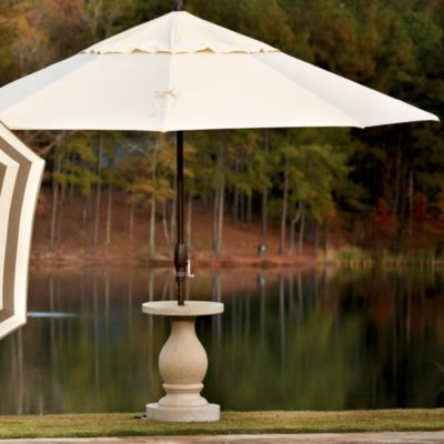 Baluster umbrella stand ballard designs