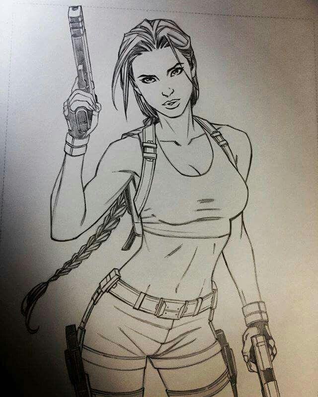 b5a6fb3b78 LaraCroft #TombRaider | Sexy Art | Tomb raider lara croft, Lara ...