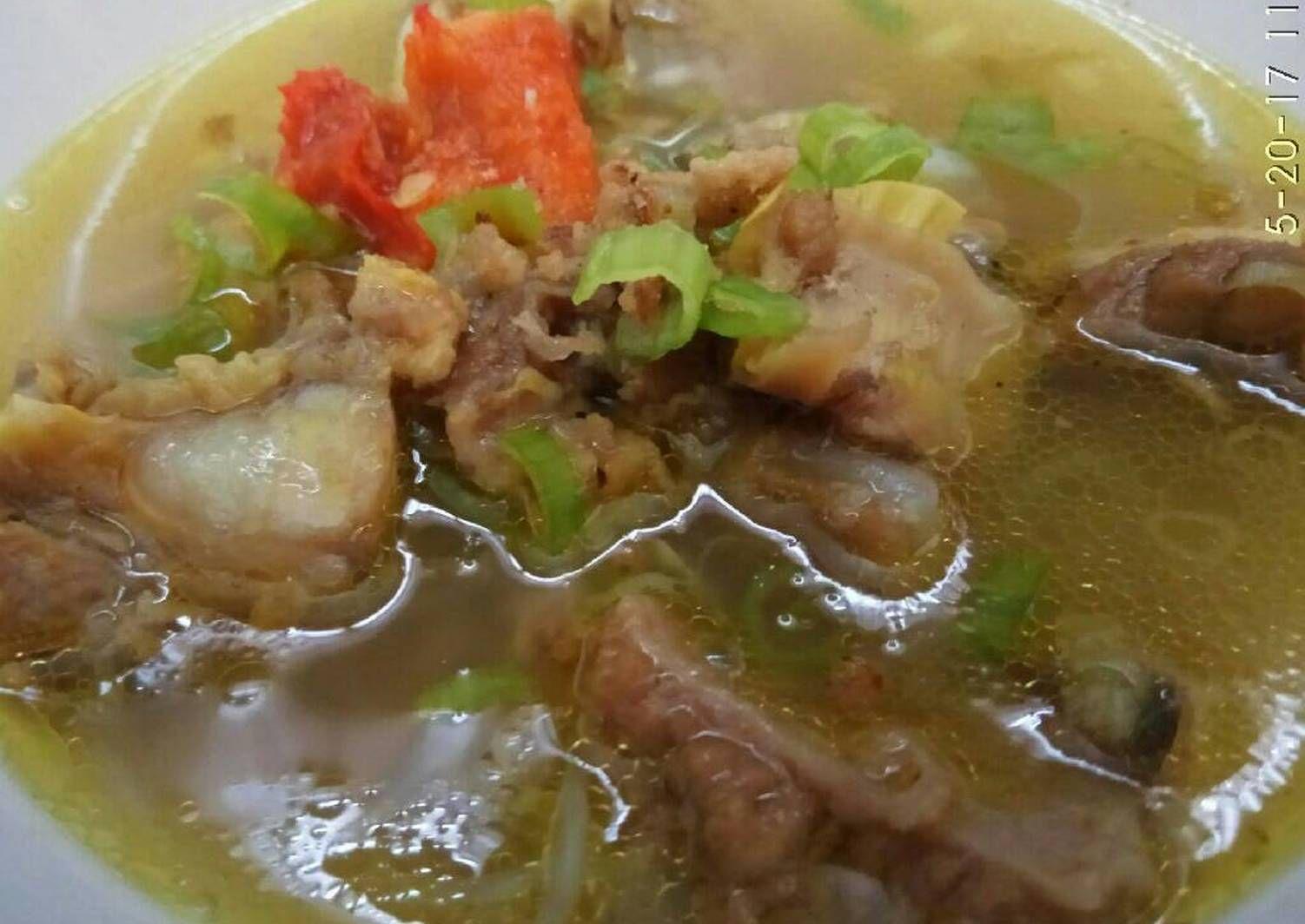 Resep Soto Daging Bening Segaar Oleh Dapur Andwina Resep Resep Resep Makanan Sehat Resep Masakan