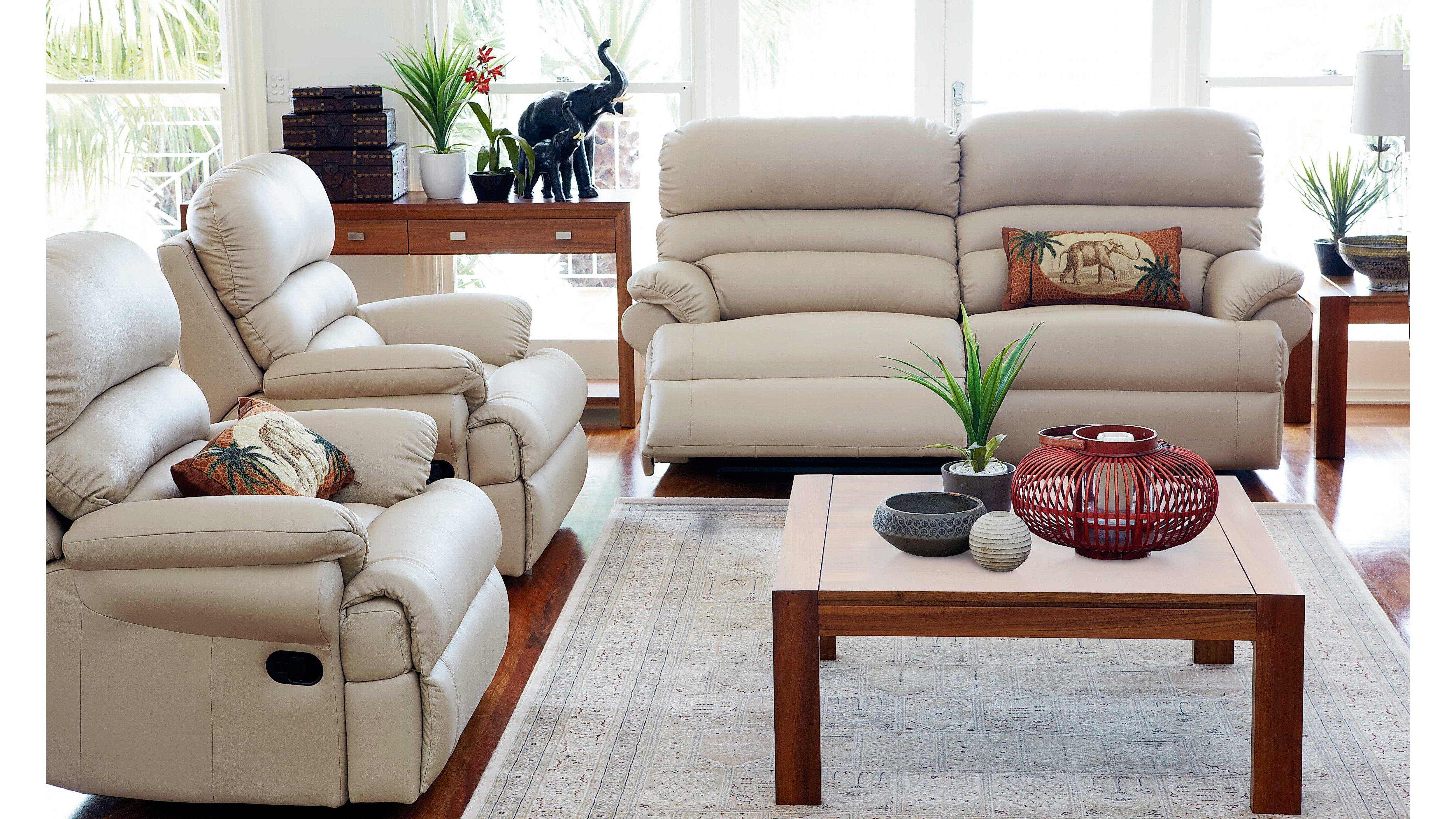 Benson 3 Piece Recliner Lounge Suite Home