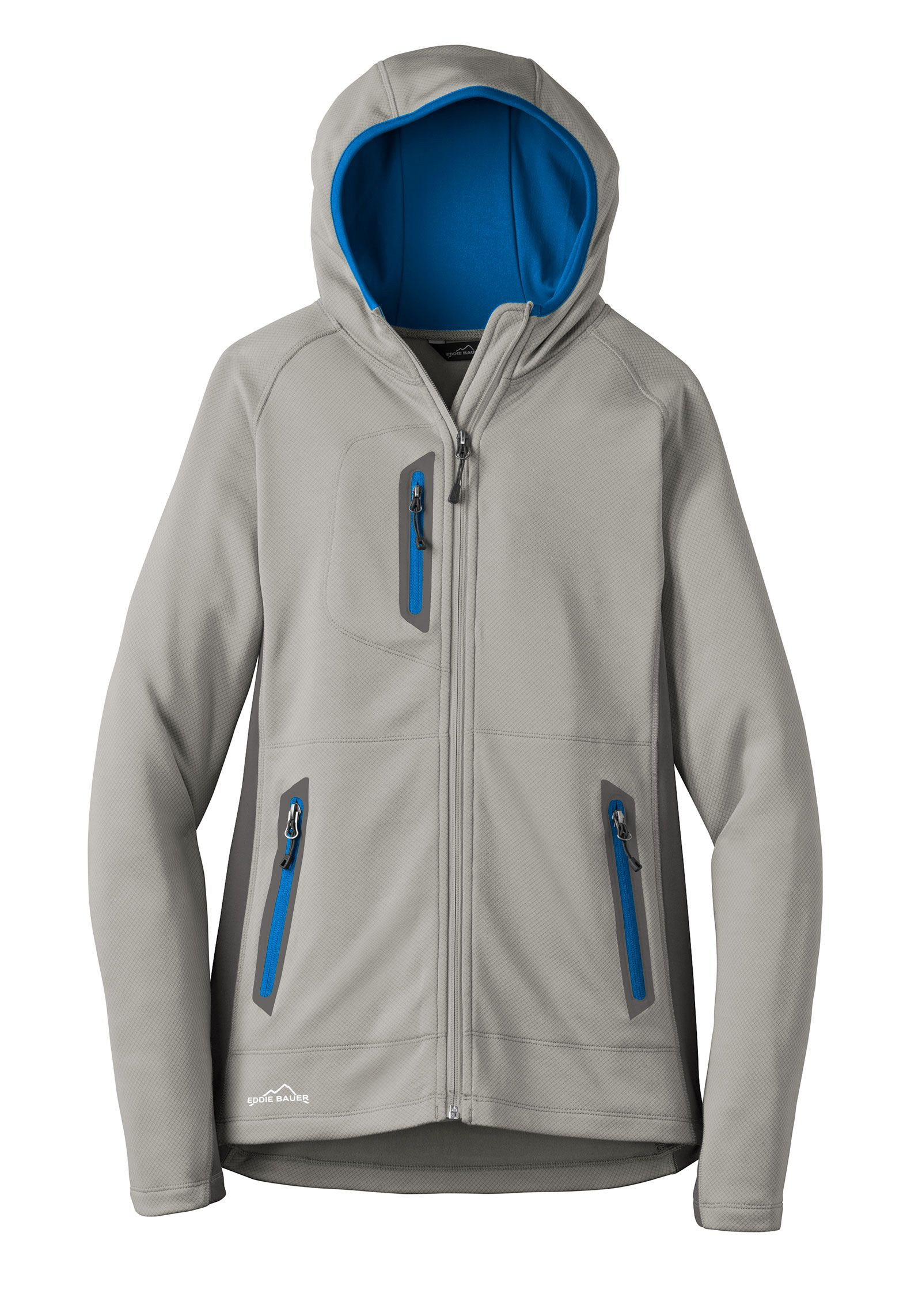 Custom Eddie Bauer® Ladies Sport Hooded Fleece Jacket