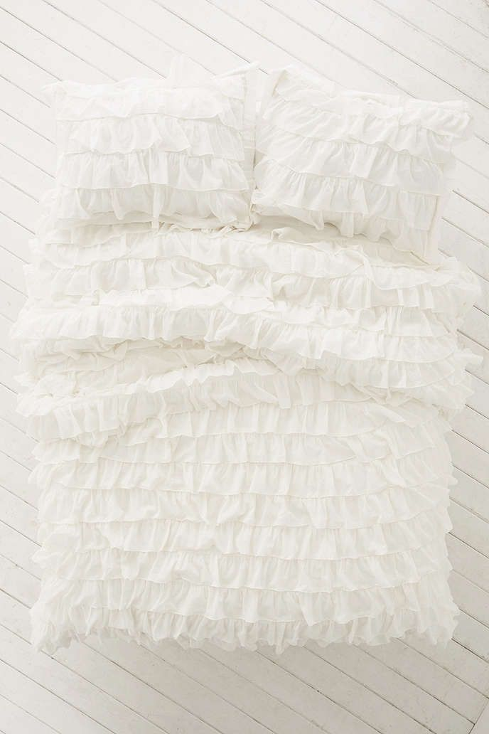 Beautiful Shop Waterfall Ruffle Duvet Cover At Urban Outfitters Today. We Carry All  The Latest Styles, Colors And Brands For You To Choose From Right Here.