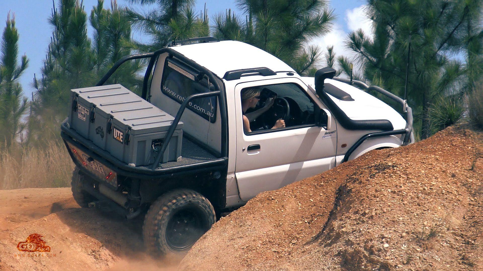 Modified Suzuki Jimny Offroading Custom Ute Zook 4wd 4x4