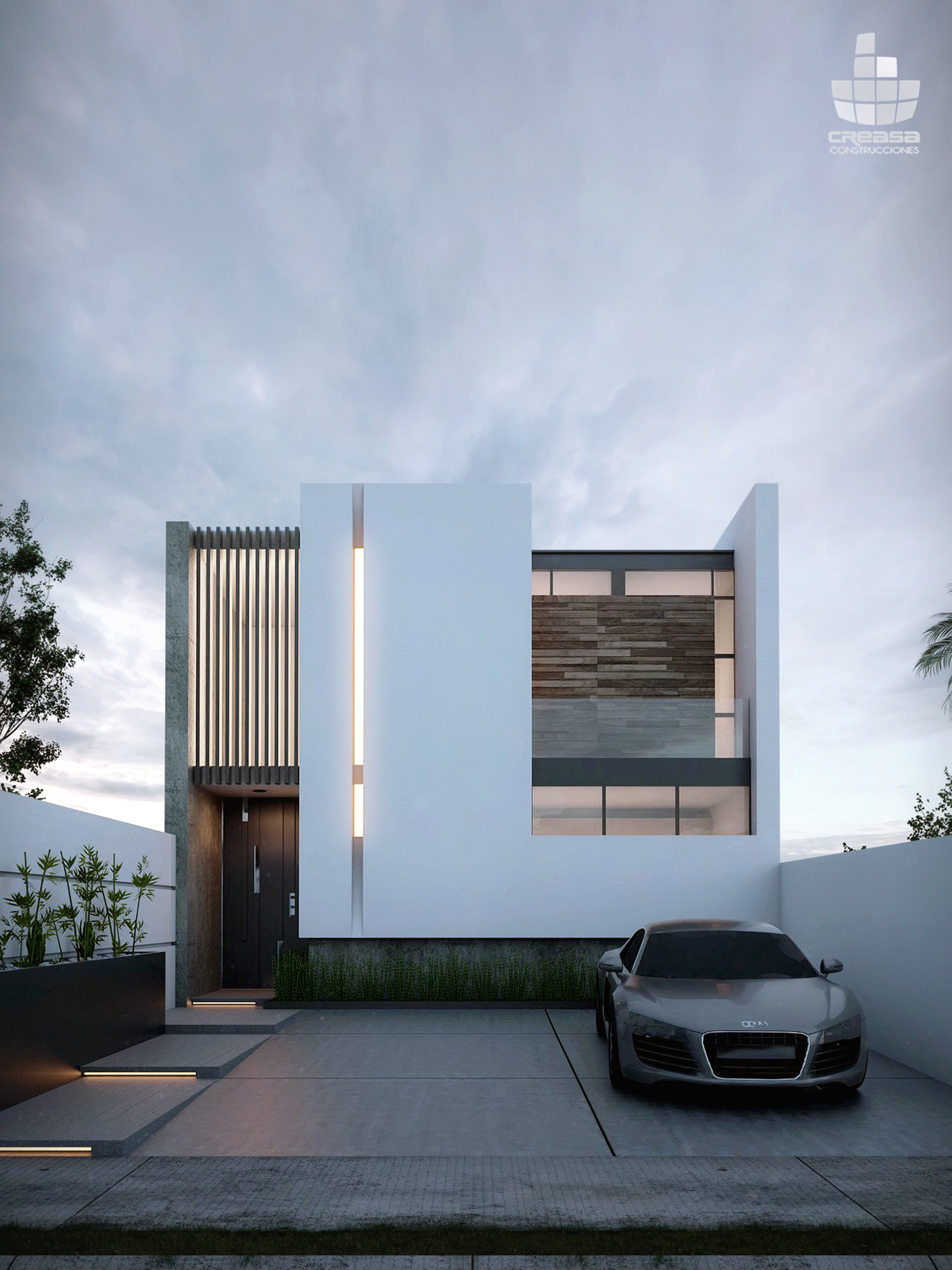 Casas en colima m xico v renderings modern homes in for Casa minimalista granada