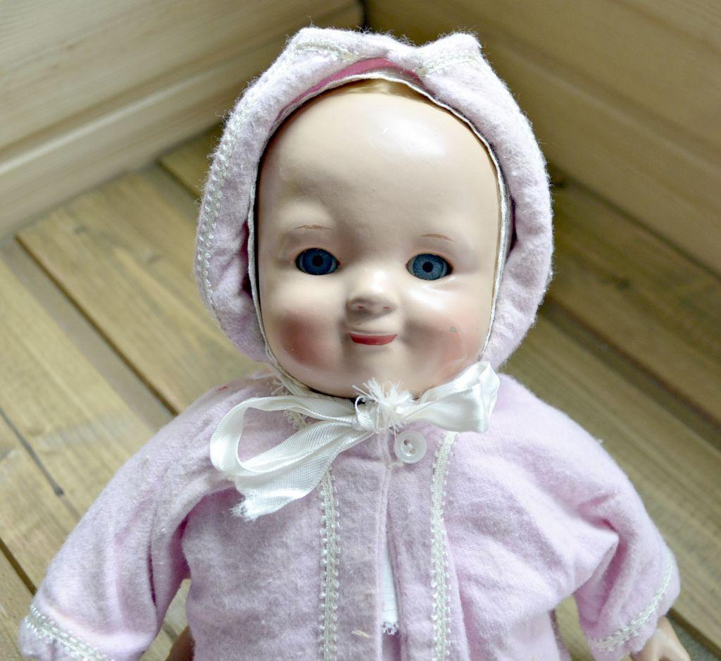 Редкая! Кукла Тата. Пресопилки. Фабрика 8 Марта. Автор М.Р ...