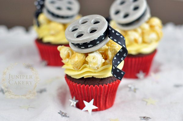 Lights Camera Action How To Make Movie Themed Cupcake