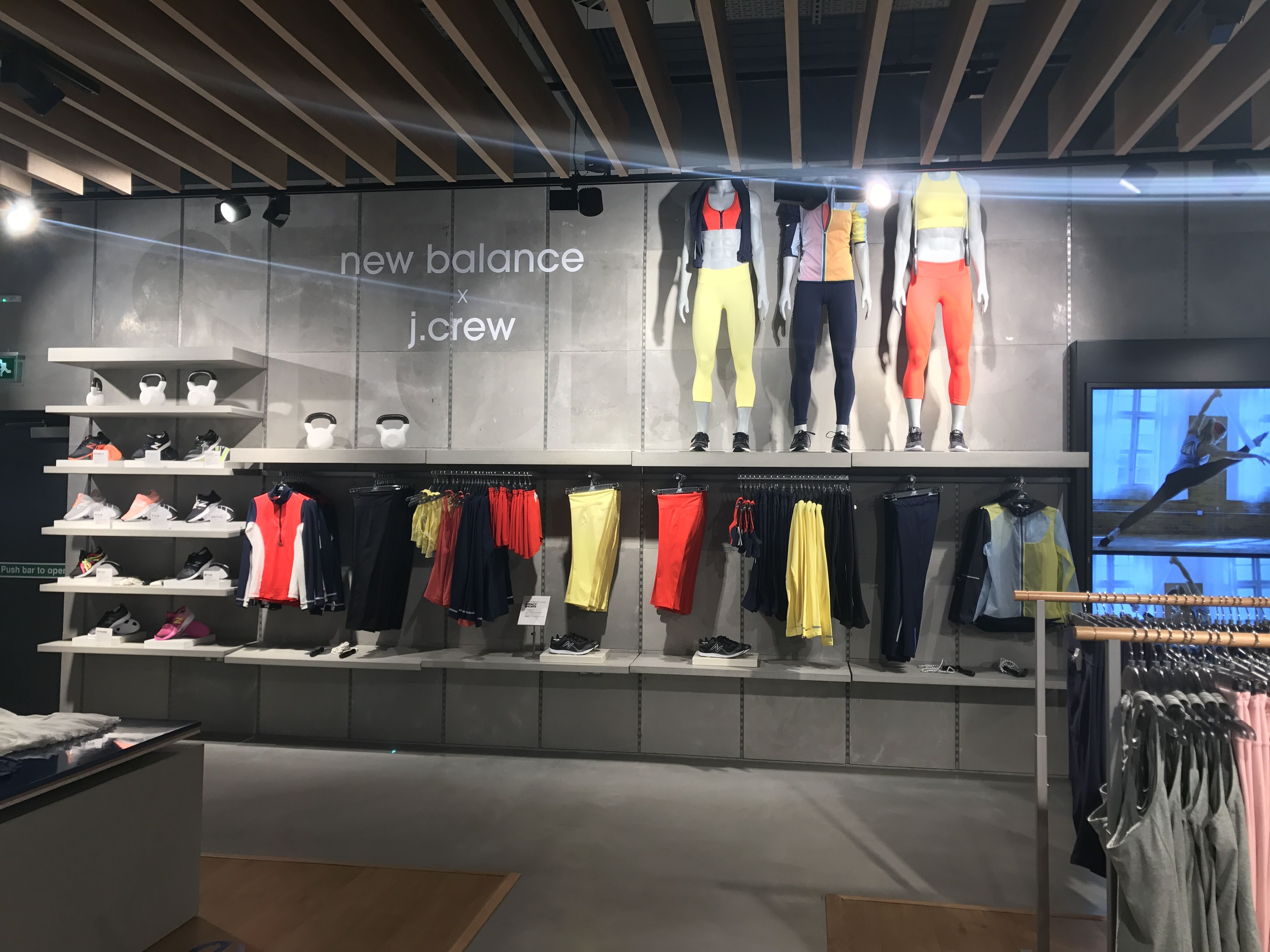 80df101cda New Balance - Central London, April 2017 Collaboration with J Crew  #sportbrands #retail #vm #visualmerchandising #jcrew #newbalance #fashion