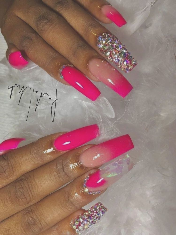 Pin By Medschool On Nails In 2020 Nail Designs Pretty Acrylic Nails Pink Nails