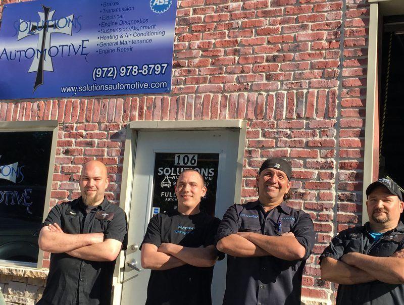 Auto Repair Frisco TX Solutions Automotive Auto repair