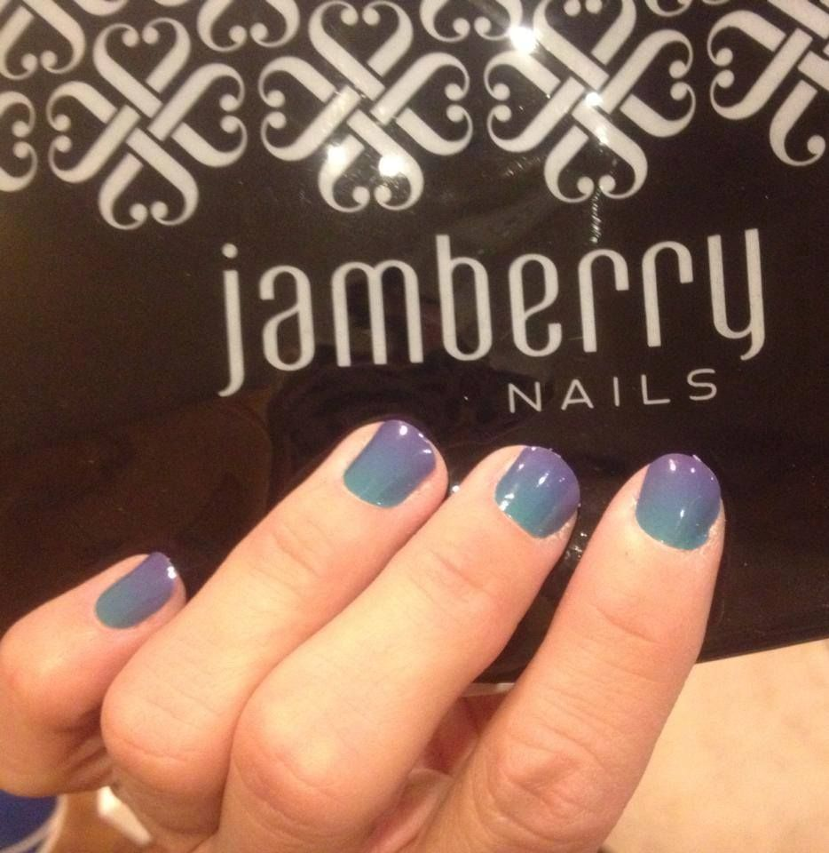 Turple Ombre. brittneyhenry.jamberrynails.net