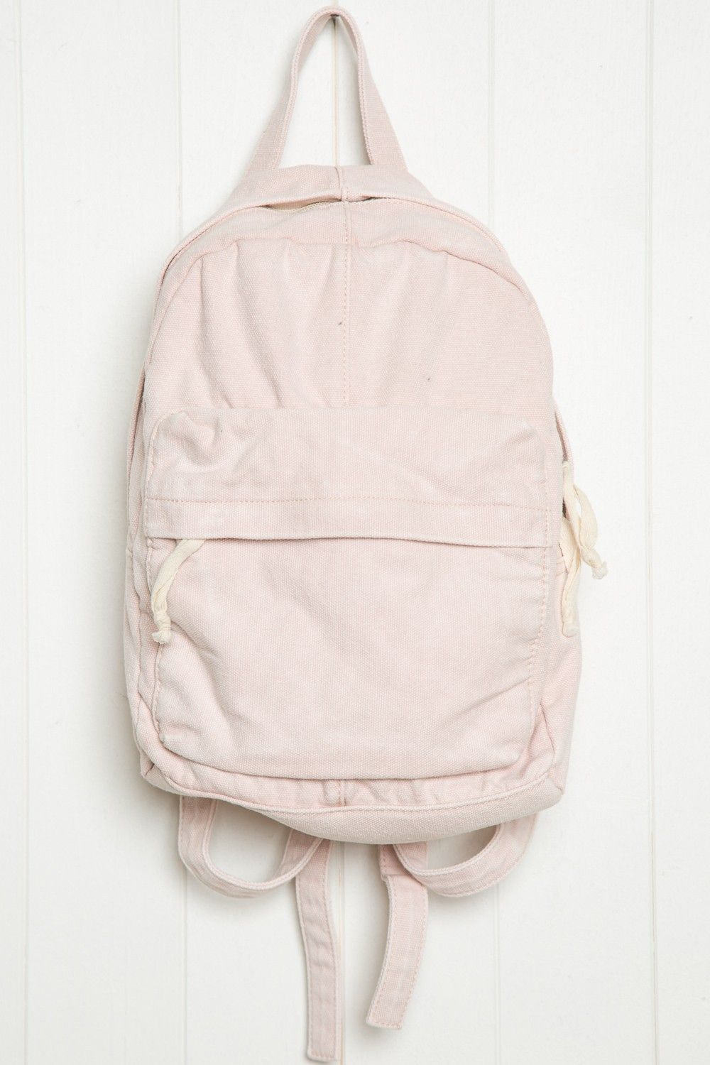 7729d4f42d Brandy ♥ Melville | Pink Canvas Mini Backpack - Bags & Backpacks -  Accessories