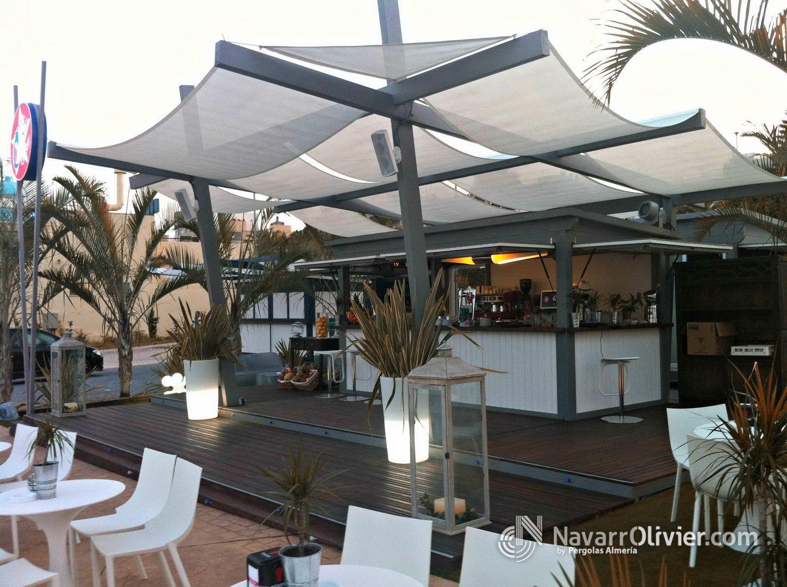 Chiringuito de playa en garrucha almer a restaurants for Kioscos prefabricados de madera