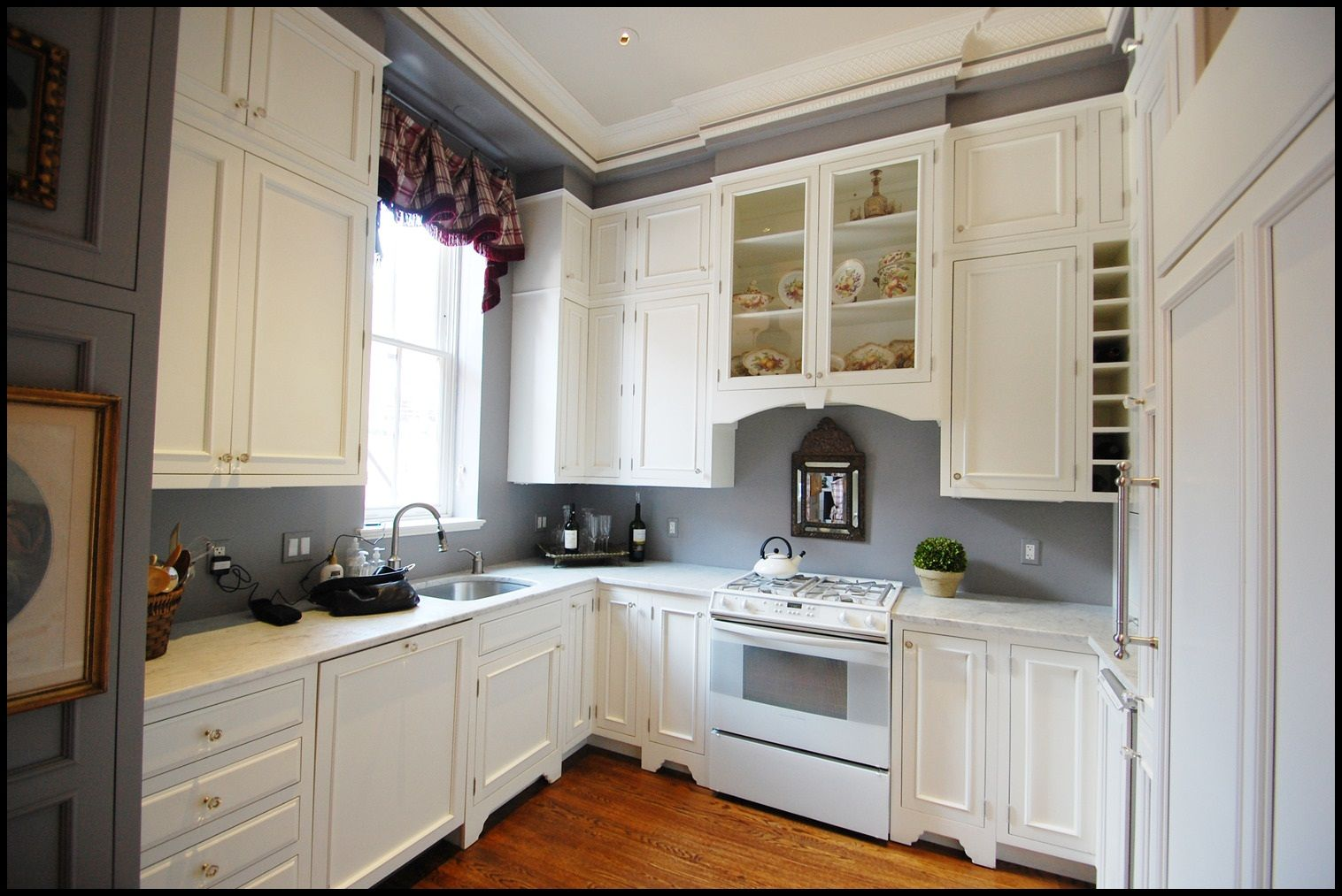Layout Wo Uppers Over Peninsula  Renovations  Pinterest Endearing 2 Wall Kitchen Designs Inspiration