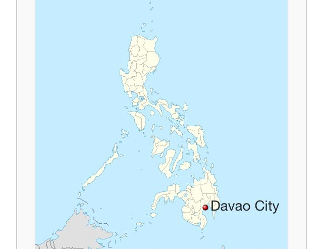 Overview map Davao city Metro Davao is home Pinterest Davao