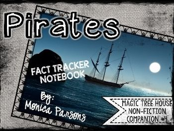 Magic Tree House 4 Pirates {Nonfiction Fact Tracker