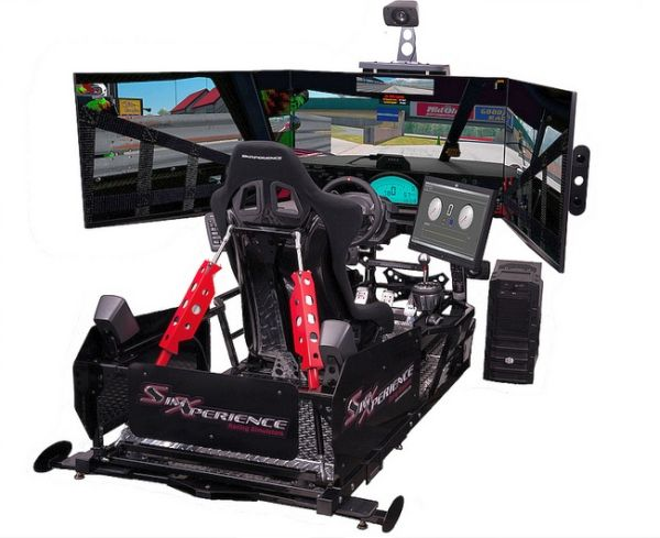SimXperience Stage 5 Motion Racing Simulator_3
