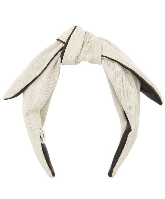 Eugenia Kim Grey Phoebe Floppy Bow Headband Headbands