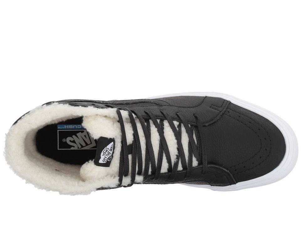 78b7381456 Vans UA SK8-Hi Reissue Lite Shoes (Sherpa) Black True White ...