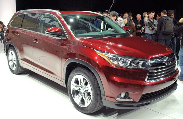 2014 Toyota Highlander Greets The World With Nyc Debut Toyota