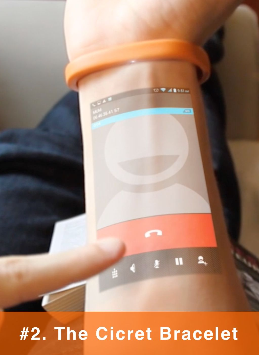 Wtf This Wearable Turns Your Skin Into A Touchscreen Cool
