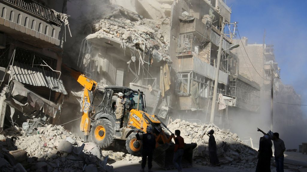 Un Head Appalled By Aleppo Escalation Syria Conflict Syria