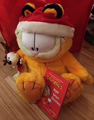 f77d311b69146 Garfield 25th Anniversary Limited Ed Macys Christmas Plush * Check ...