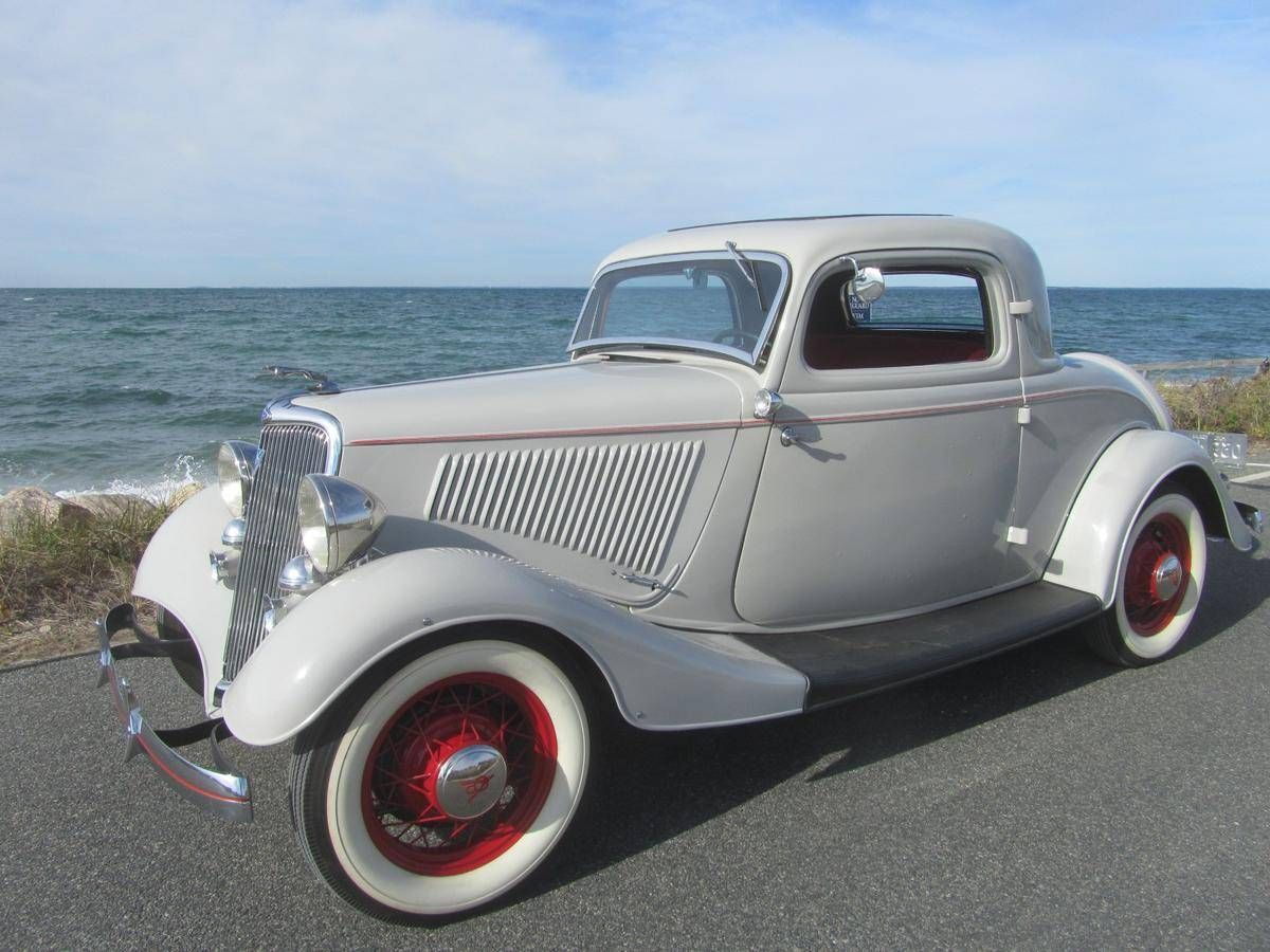 1934 Ford 3 Window Coupe | Ford | Pinterest | Ford, Cars and Ford ...
