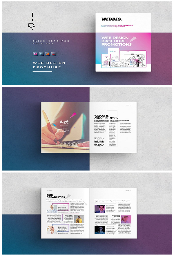 Web Design Brochure Brochure Design Web Design Brochure