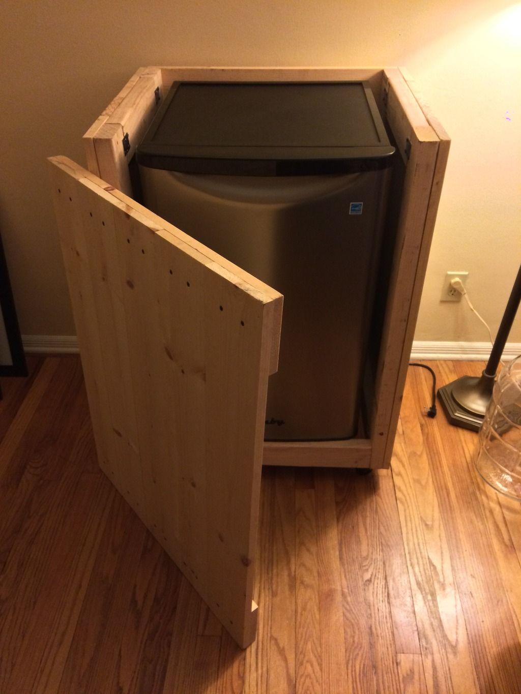 Kegerator Wood Cabinet   Cabinets Matttroy