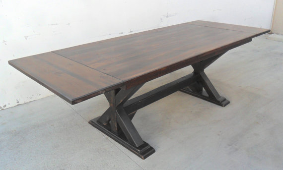8 Ft Breadboard Extension Table Table Extension Table Dining