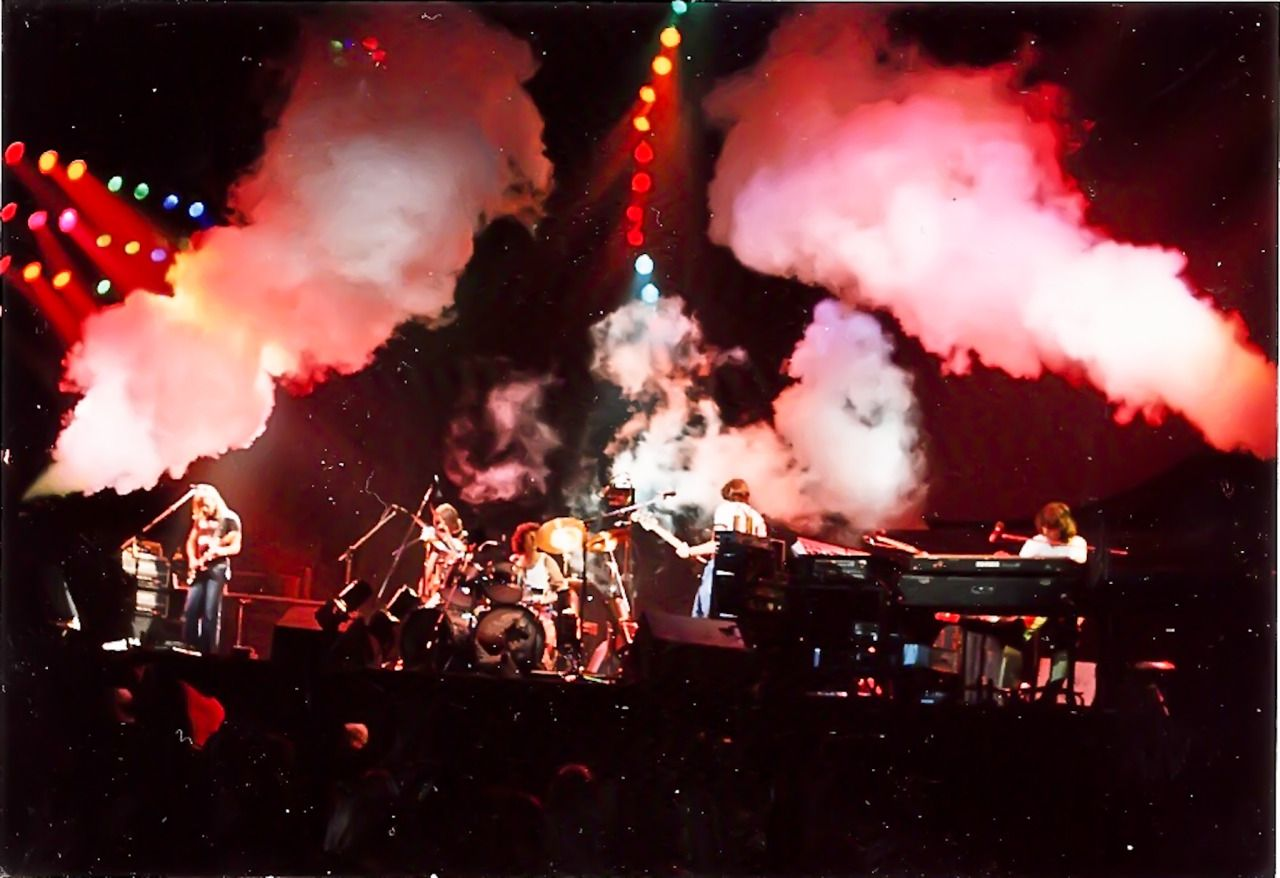 """pinkfloyded""""Pink Floyd MSG New York 19770701 photo by"""