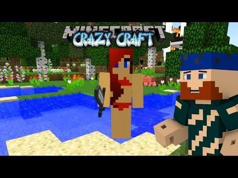 Minecraft Yesmen Crazy Craft 5 My New Girlfriend New