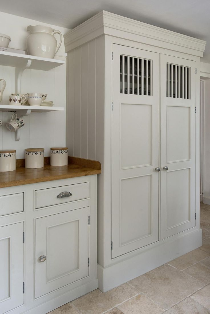 How Create Country Kitchen Make Pantry Cabinet French Wren Kitchens Blog