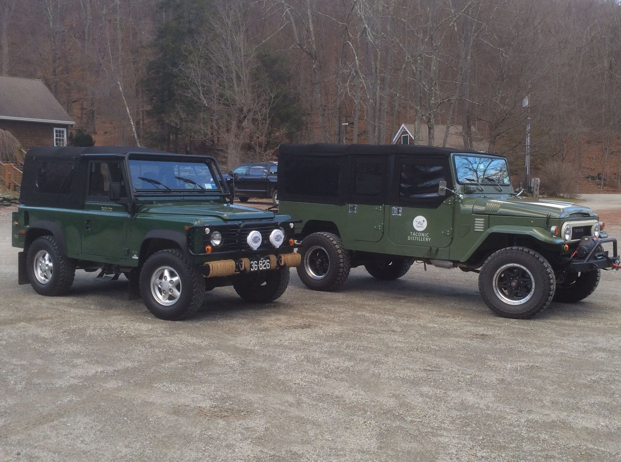 Down At The Preserve Land Cruiser Vs Land Rover Defender Land Rover Defender Land Rover Land Cruiser