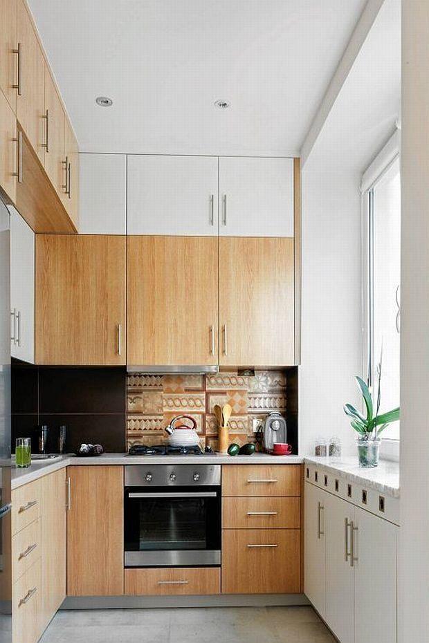 Http Ladnydom Pl Czterykaty 56 57595 16471419 Kuchnia Szafki Kuchenne Wiszace 6 Html Kitchen Kitchen Cabinets Home